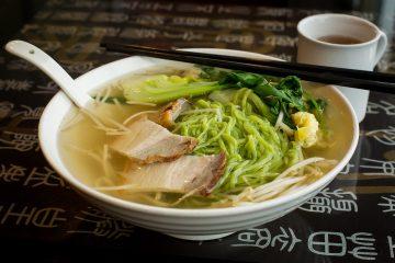 King Noodle House soup bowl