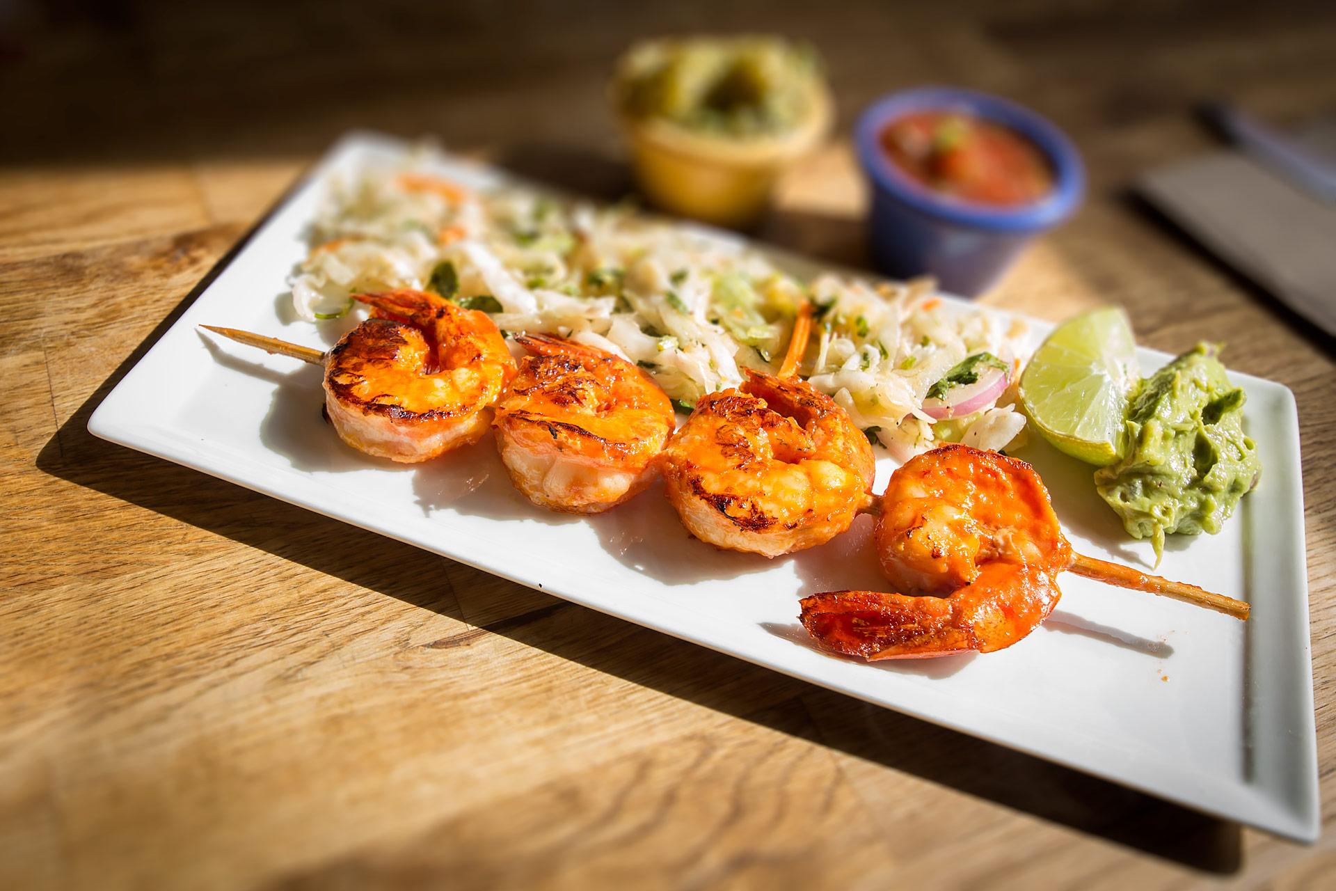 Habanero Shrimp at South in Leavenworth, WA