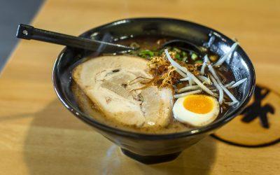 Black Garlic Ramen at Arashi Ramen